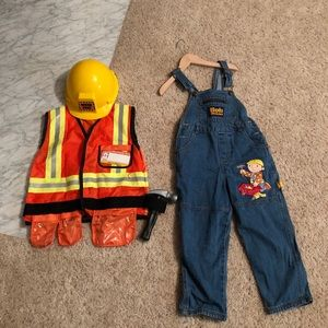 Other - Boys Bob the Builder Coveralls & Safety Vest